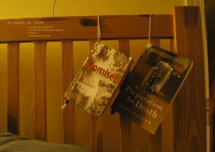book hanger